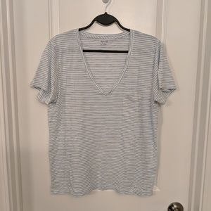 Madewell Whisper Cotton V Neck